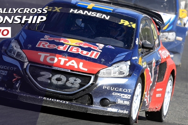 The PEUGEOT 208 WRX in the hunt for the 2016 FIA World Rallycross crown!