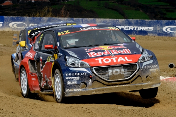 Peugeot 208 WRXs show potential to work on in Portugal
