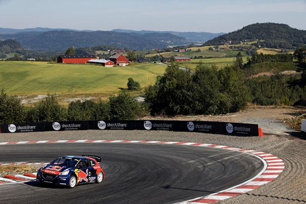 A trip to Hell for PEUGEOT 208 WRX drivers Sébastien Loeb and Timmy Hansen