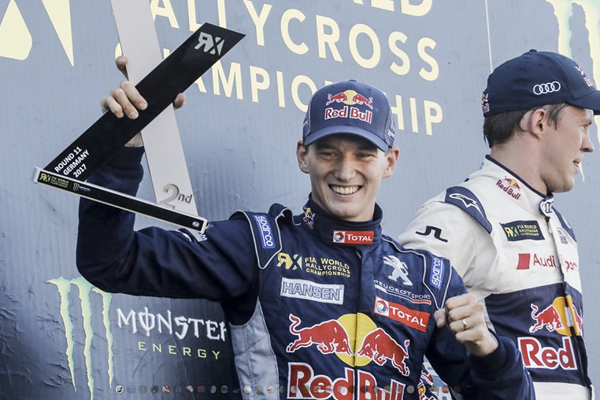 Strong Estering weekend for Timmy Hansen and the PEUGEOT 208 WRX